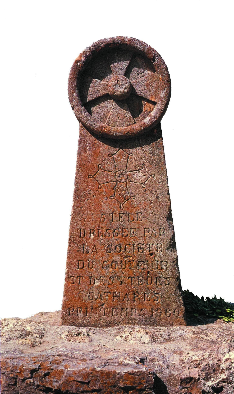 Памятник катарам близ Монсегюра