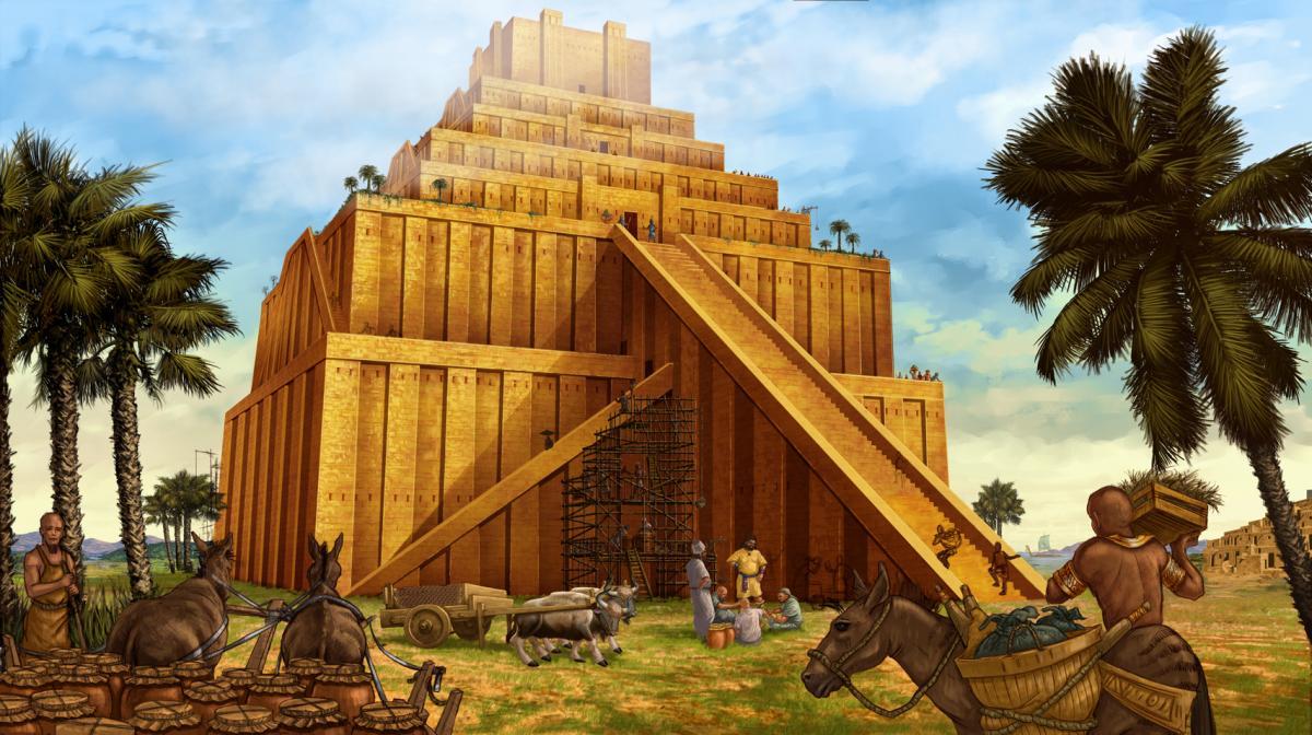 Вавилонский храм