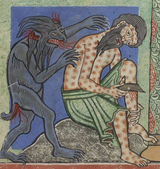 Иов и Сатана