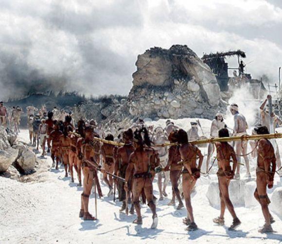 индейцев сгоняли с анд