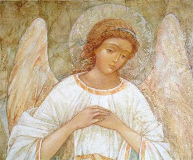 Ангел-хранитель. Фреска