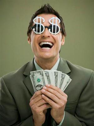 деньги ослепляют