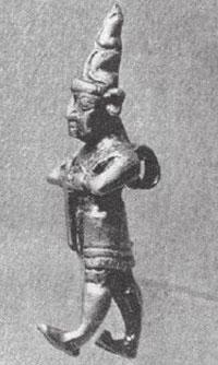 статуэтка хеттского божества
