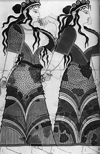 Микенские женщины