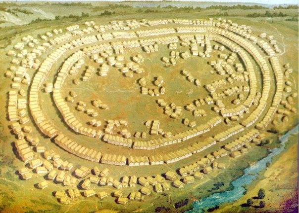 Поселение Трипольской культуры