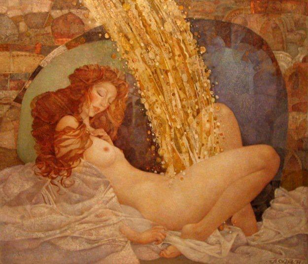 Зевс и Даная