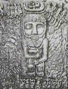 Один — воинственный и рогатый бог древних германцев.