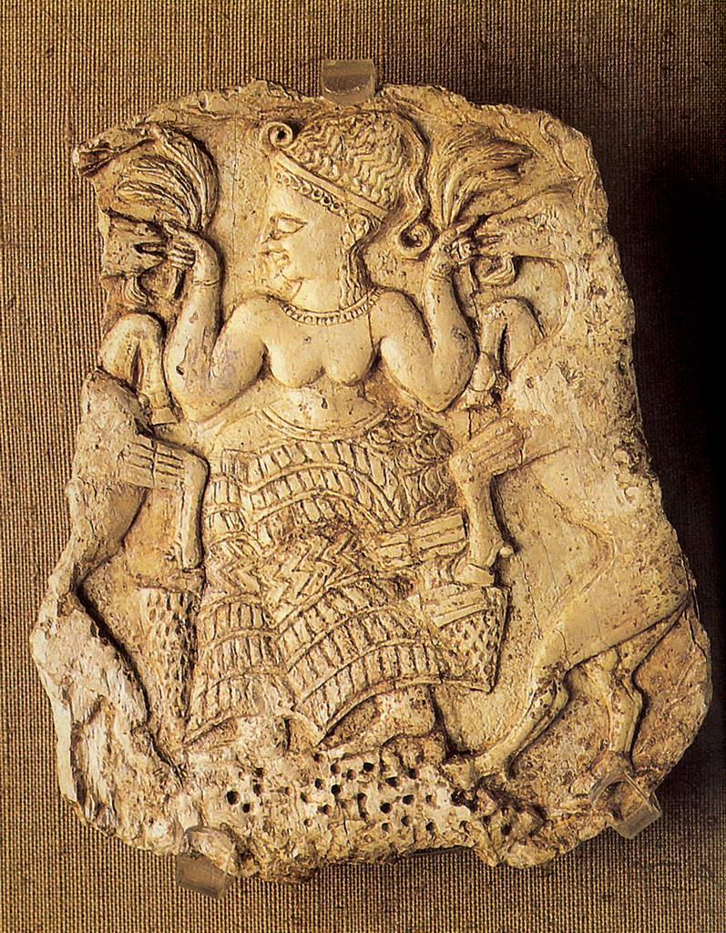 Богиня, кормящая козлов. 14 в. до н. э.