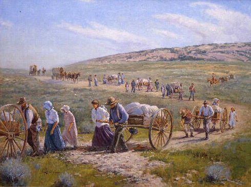 американские пионеры