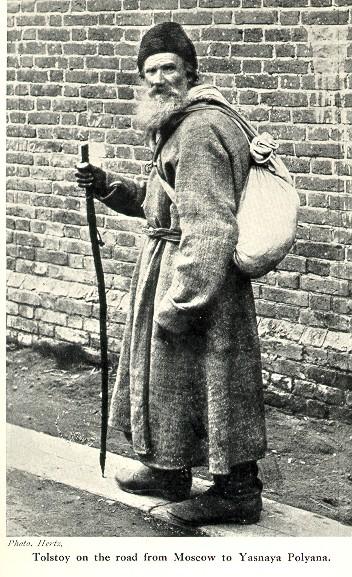 Лев Толстой по дороге из Москвы в Ясную Поляну