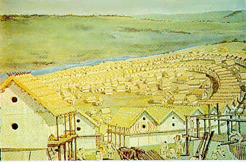 Майданское (Майданецкое) - мегапоселение трипольской культуры