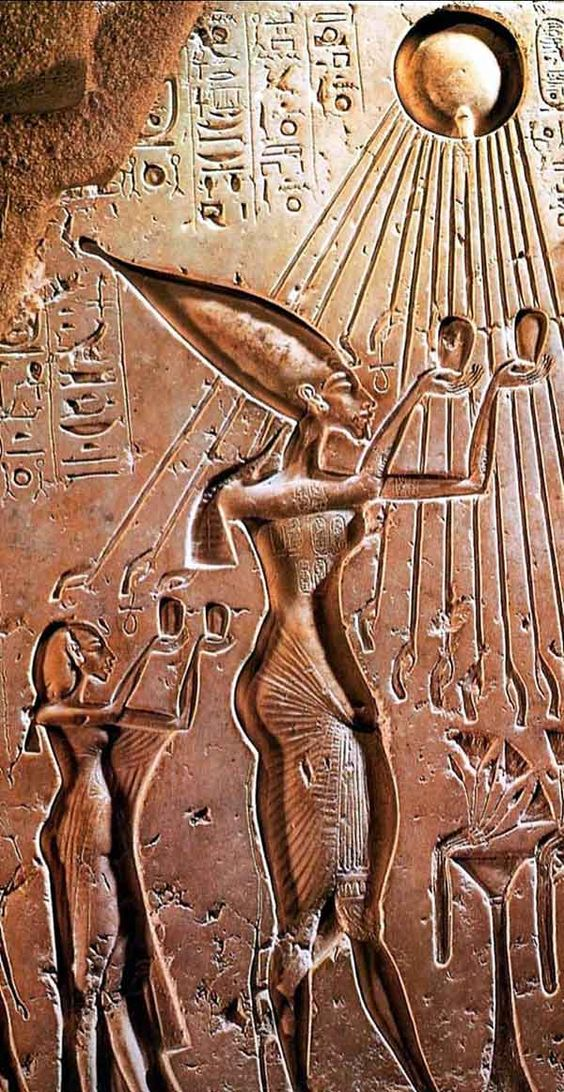 akhenaten s hymn to the sun Akhenaten s hymn to aten and psalm 104 of the hebrew bible amenhotep iv  and the sun knows when to go down you bring darkness, it becomes night,.