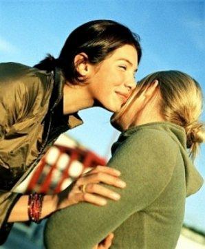 cheek-kissing