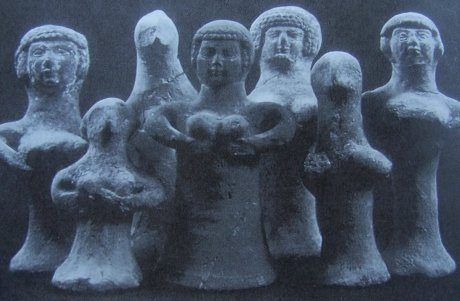 глиняные фигуры