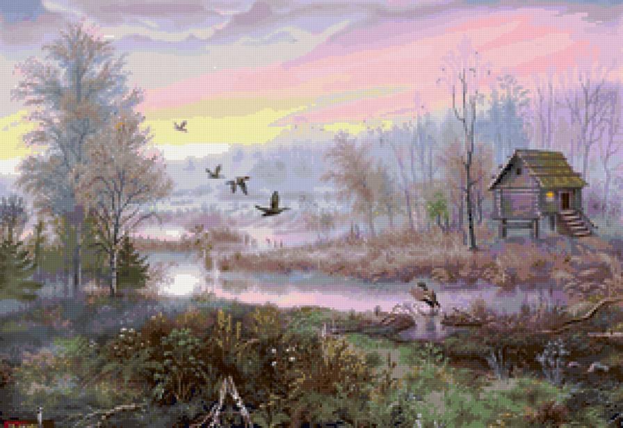 избушка на болоте