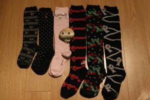chaussettes diverses