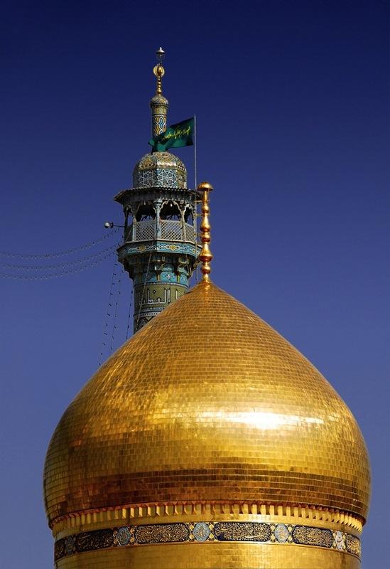 яр9 купол мечети в г. Кум в Иране
