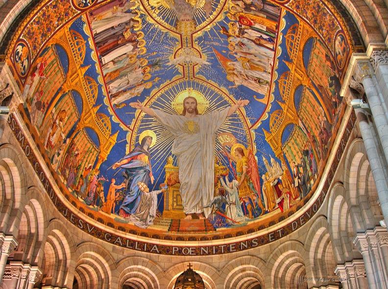 яр13 базилика Сакре Кёр (Святое сердце) в Париже