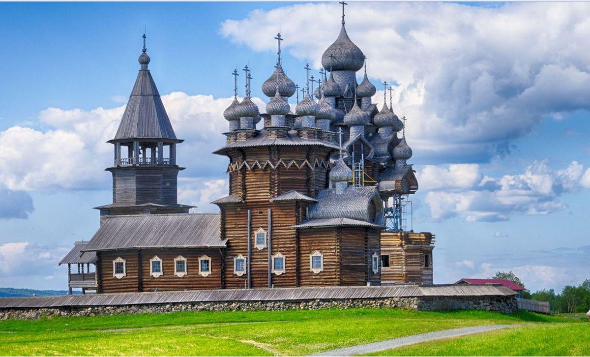 Кижи-Церковь-Преображения-Господня-Karelia
