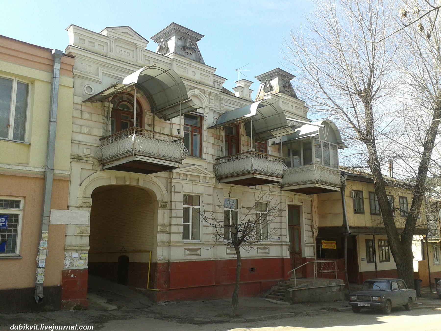 Дом Николая Бландова в 2014 году