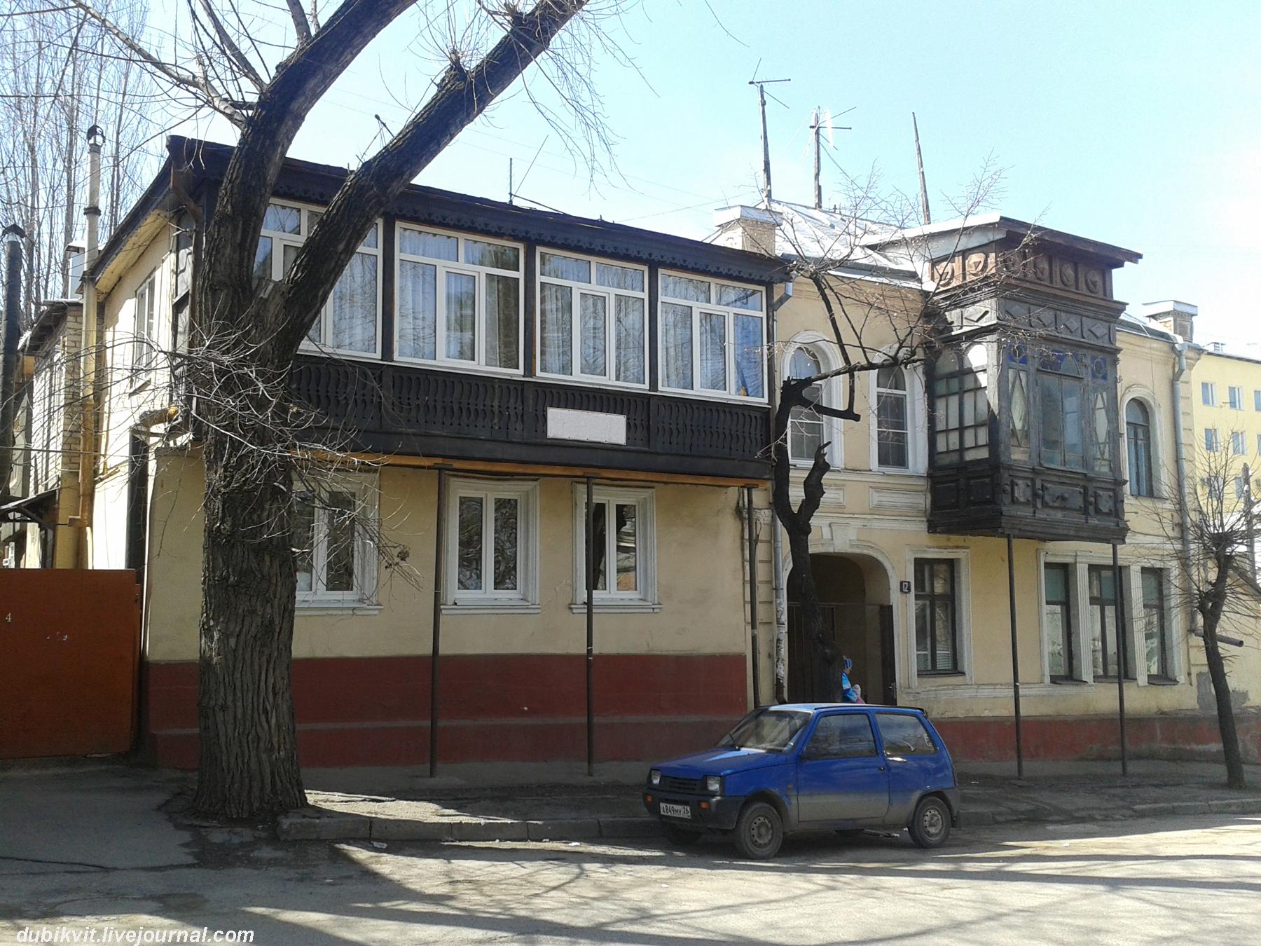 Дом Владимира Бландова в 2014 году