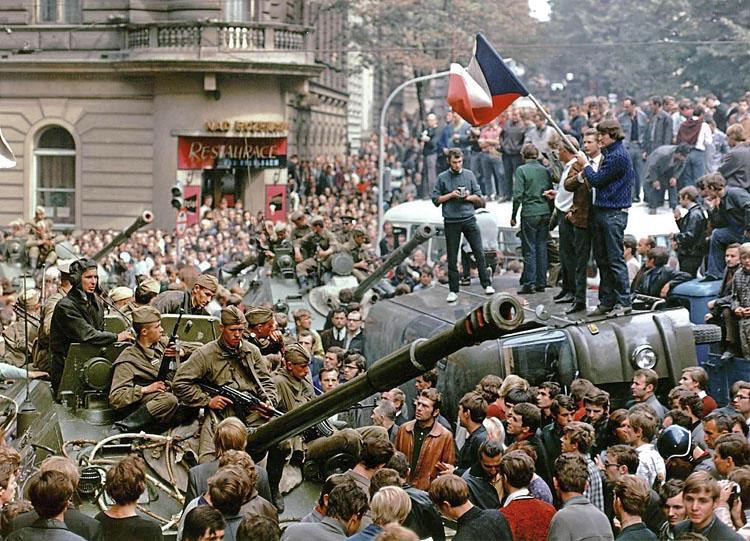 Чехословакия 68г