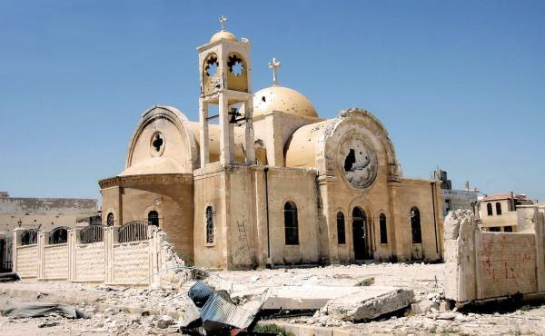 маалюль -destroyed-syrian-church