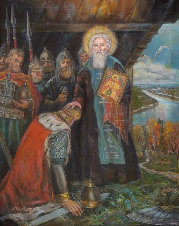 С. Радонежский и Д. Донской