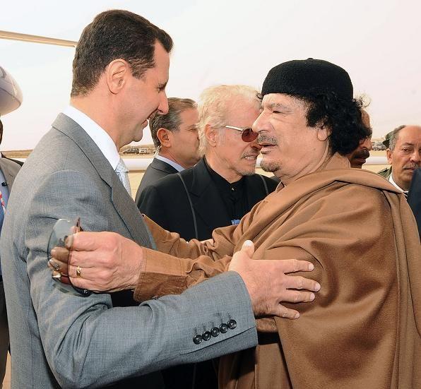 каддафи и асад