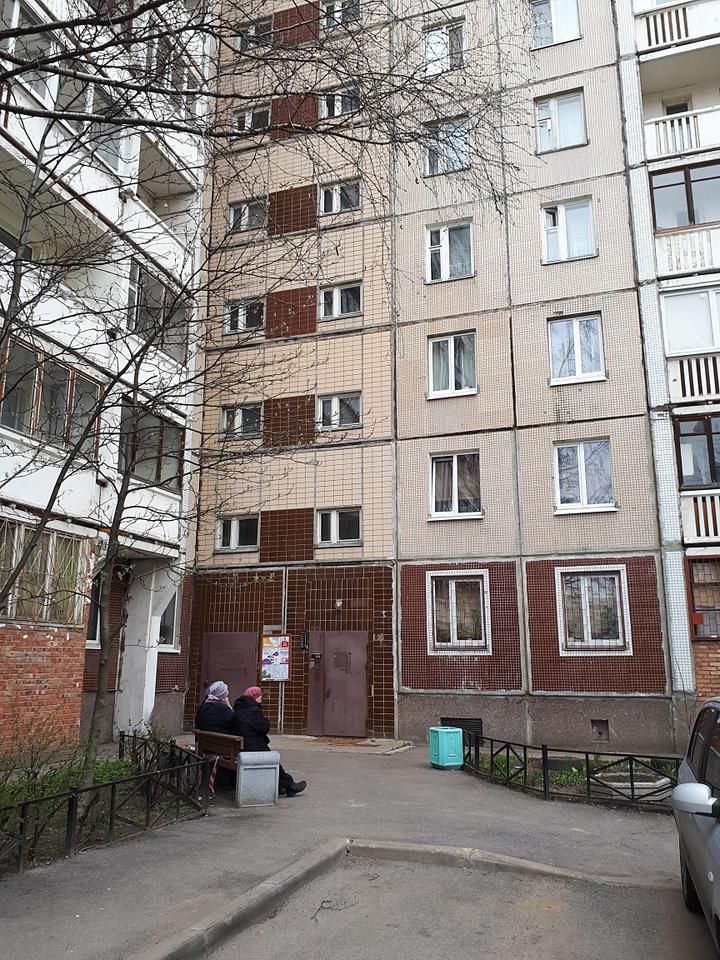 В этой питерской многоэтажке живет отец братьев Дуровых.