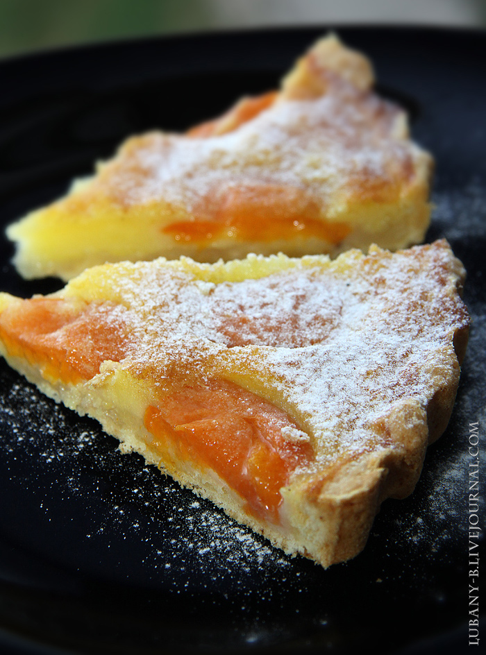 пирог абрикос