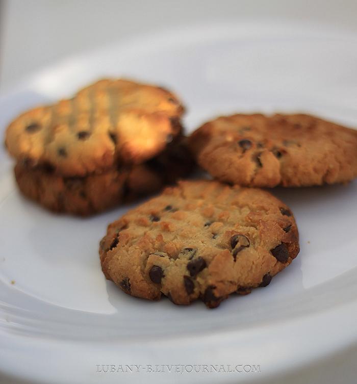 печенье арахисовая паста