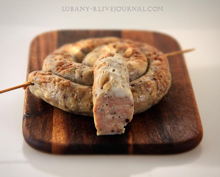 колбаса печеная пасхальная