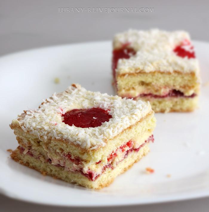 пирожное желе