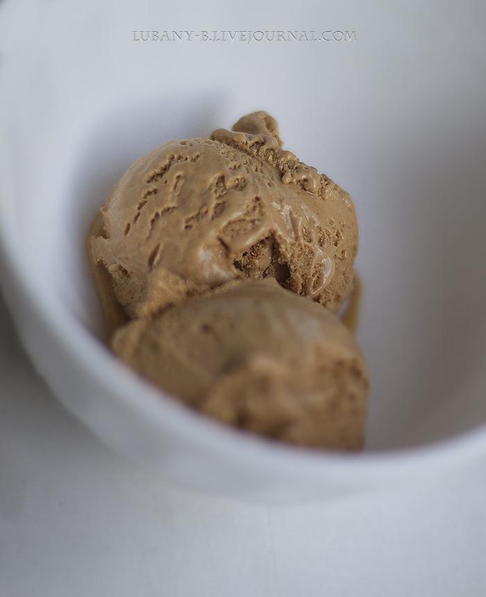 мороженое карамель