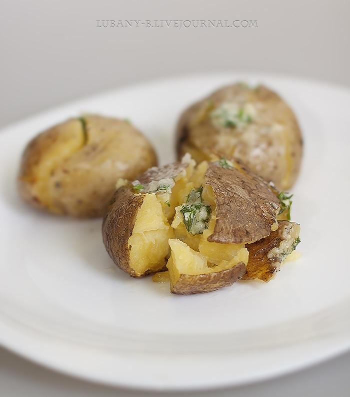 картофель давленый