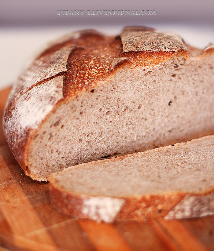 Печем ржаной хлеб на закваске дома