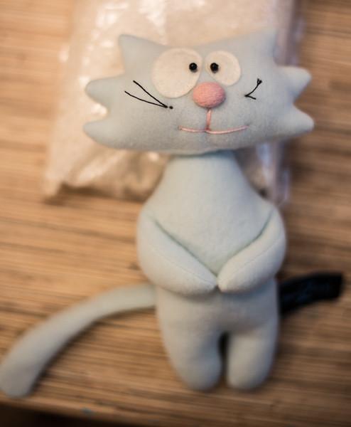 Игрушка кот фото своими руками