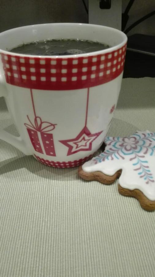 Сижу наслаждаюсь ароматнейшим чаем