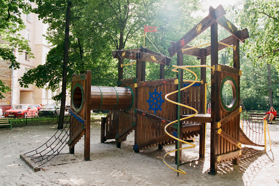 самодельные детские площадки фото