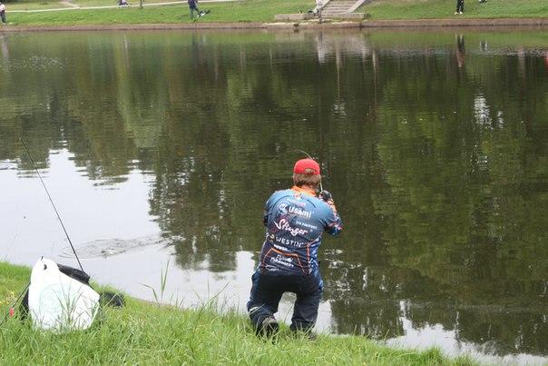 рыбалка в прудах крестовского острова