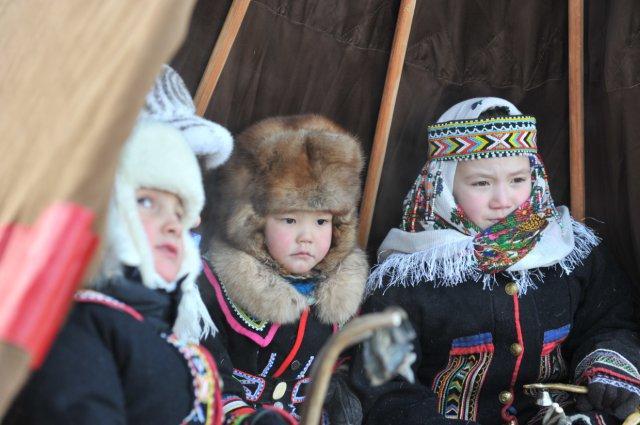 Во второй раз в начале зимы Норильск встречает Большой Аргиш ...