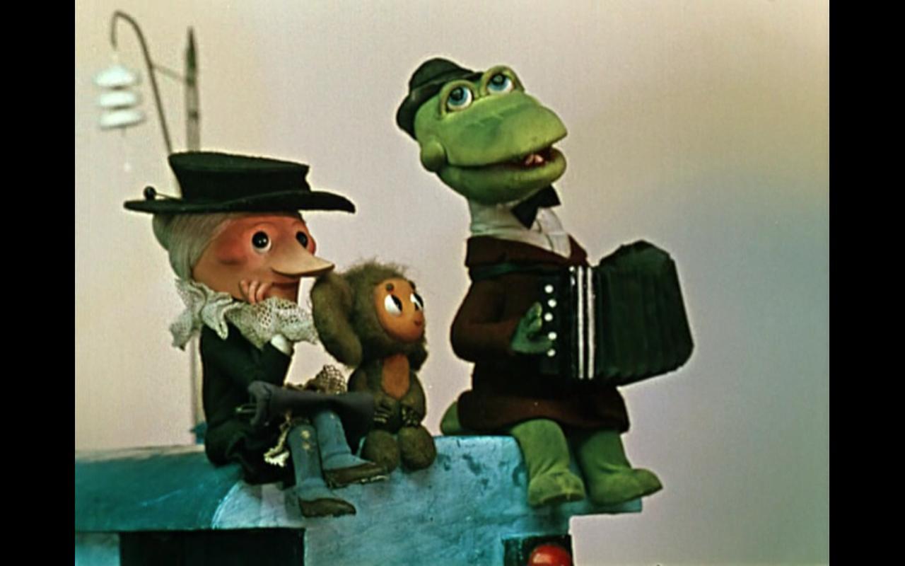Зануда смотрит мультфильмы. Чебурашка и Гена.: ludmilagor ...