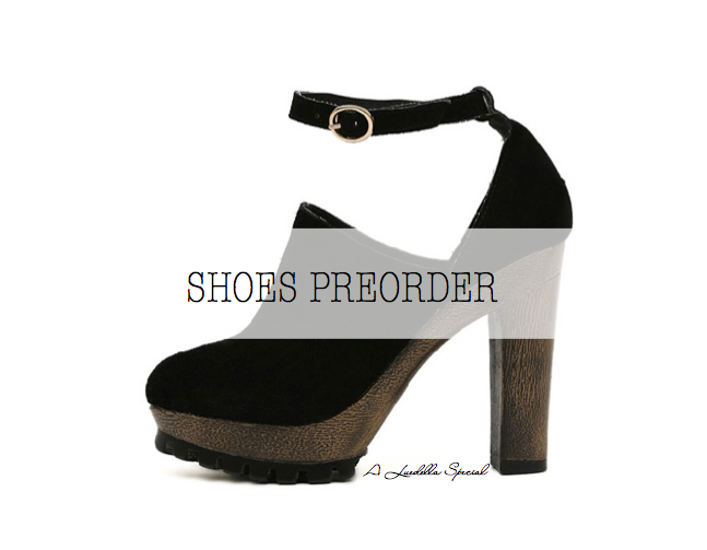 shoes preorder