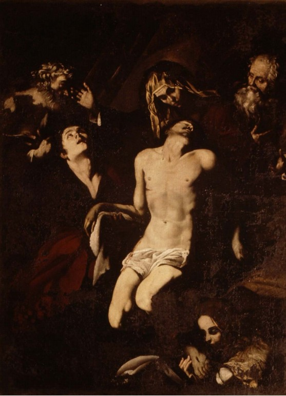 Lamentation over the Dead Christ, Oil on canvas, 200 x 147 cm