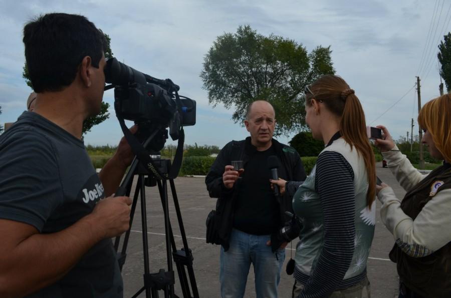 журналист из Германии