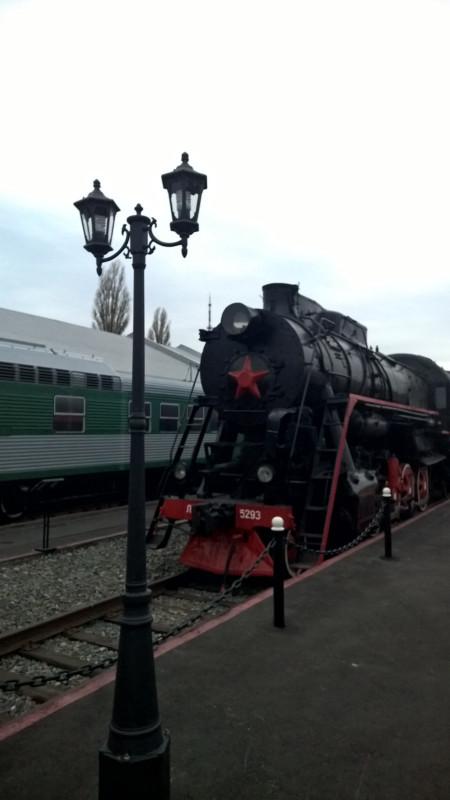 Воронежская ретровыставка железнодорожной техники