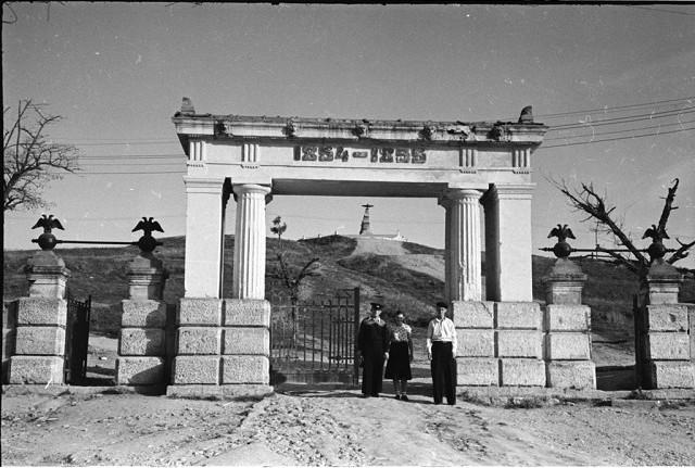 Фото В. Хухлаева. 1955