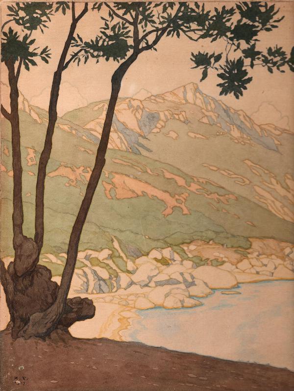 Билибин И.Я.  Каланых Кая. 1917