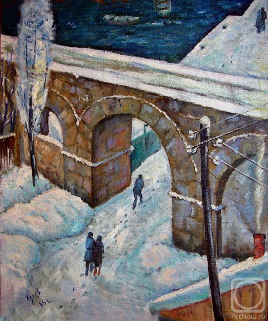 Аполлоновка зимой